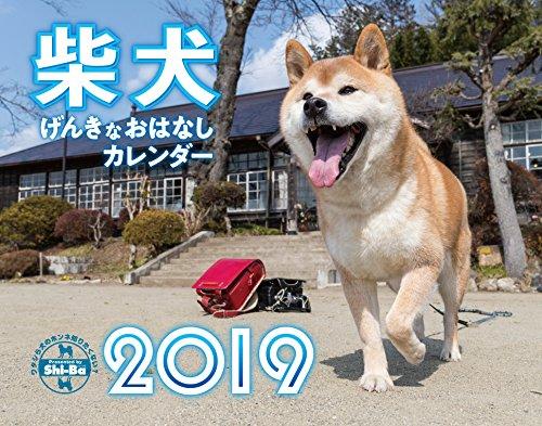 2019カレンダー 柴犬げんきな おはなしカレンダー
