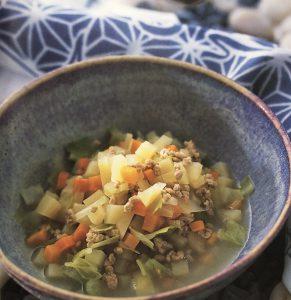 犬の夏バテ防止スープ