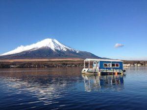 山中湖ワカサギ釣り