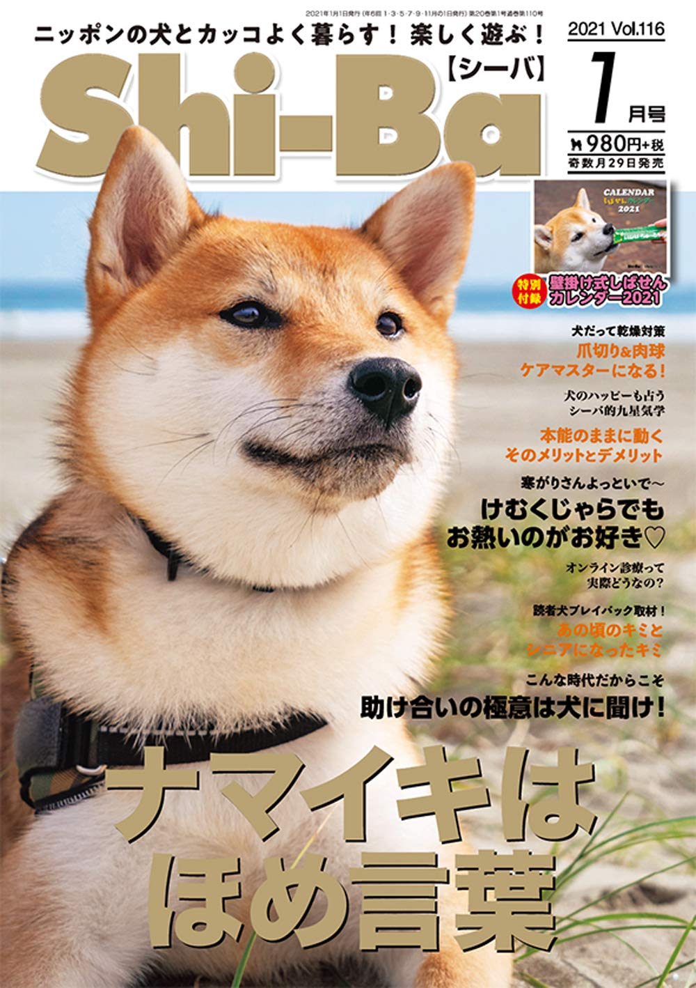 Shi-Ba【シーバ】Vol.116(2021.1)